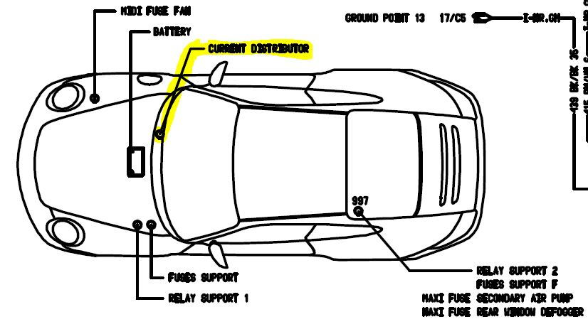 997 electrical problem: Loss of PSM and steering wheel