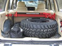 hi lift mounts, spare tire mount, and stock roof racks ...