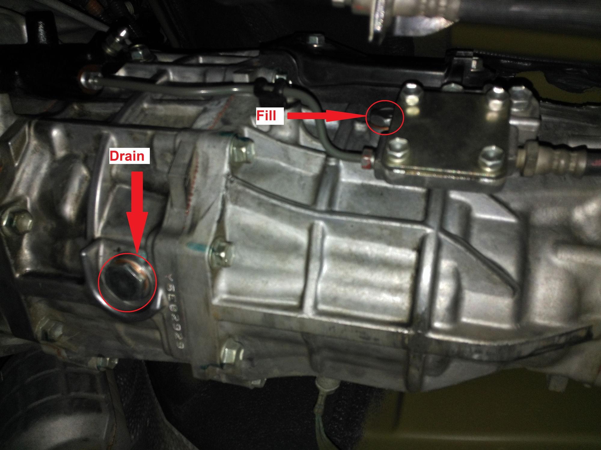 Manual Transmission oil change Page 2 ClubLexus Lexus Forum