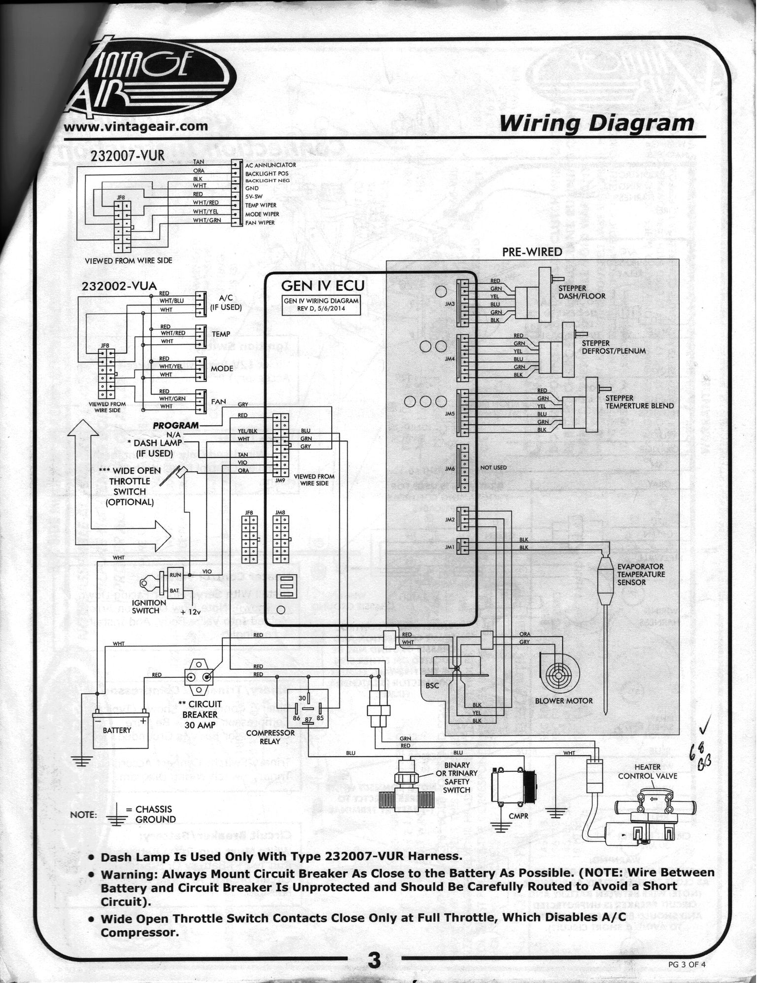 hight resolution of vintage air wiring diagram wiring diagram option vintage air trinary switch wiring diagram vintage air trinary
