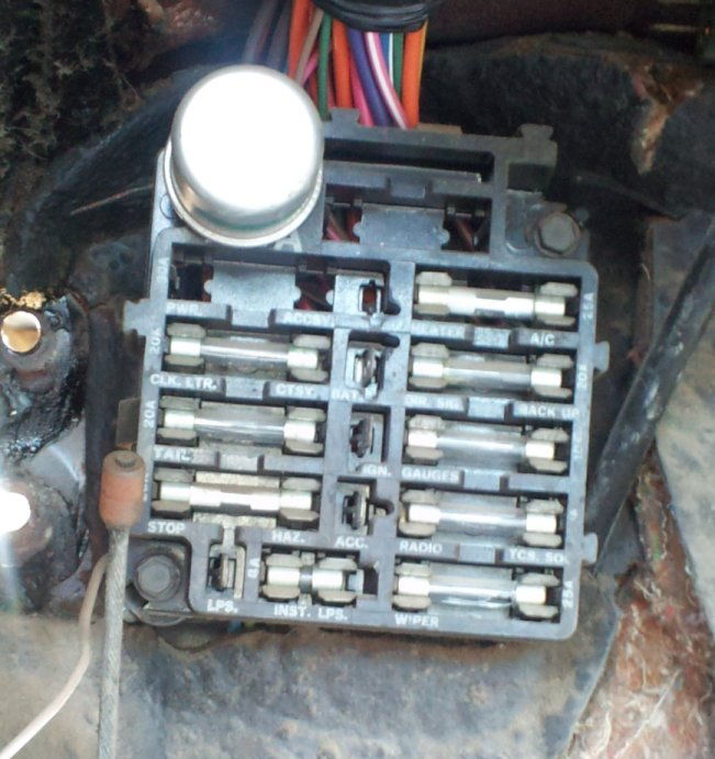 74 chevy truck fuse box