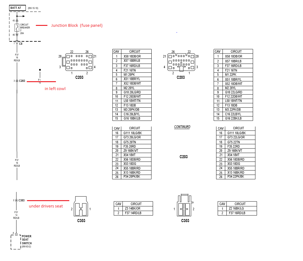 hight resolution of 1998 power seat diagram dodge diesel diesel truck resource forums diagram shows the wiring from the