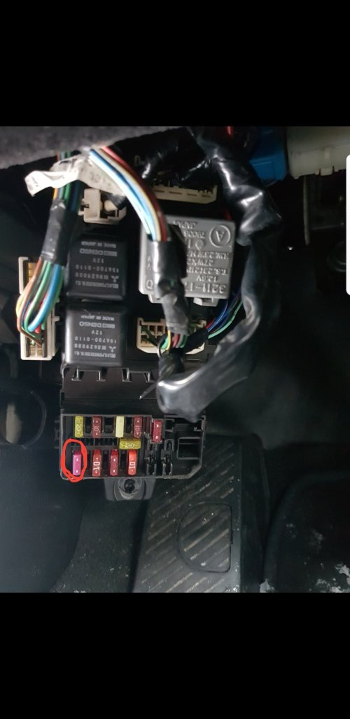 small resolution of it is a 10amp fuse in the lower left corner in the fusebox under the dash can someone please tell me what that fuse does