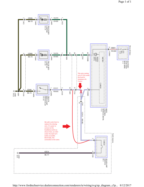 small resolution of i found this diagram for a 2017 f150 on this other post https www f150forum com f118 led b 8 post5778124 does anyone know how to get one for a 2018