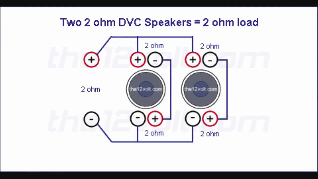 Wiring Also 2 Ohm Subwoofer Wiring Diagram Further Wiring Dual Voice