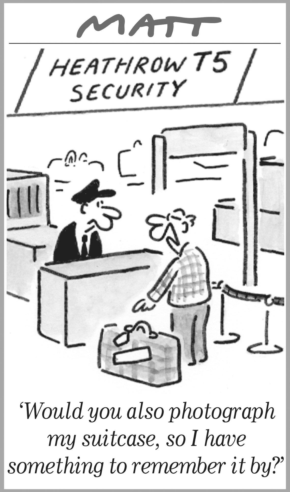 Matt Travel Cartoons