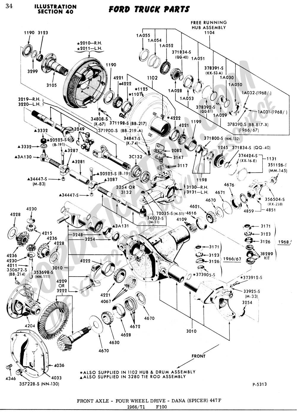 Ford F 150 4x4 Automatic Locking Hub Diagram