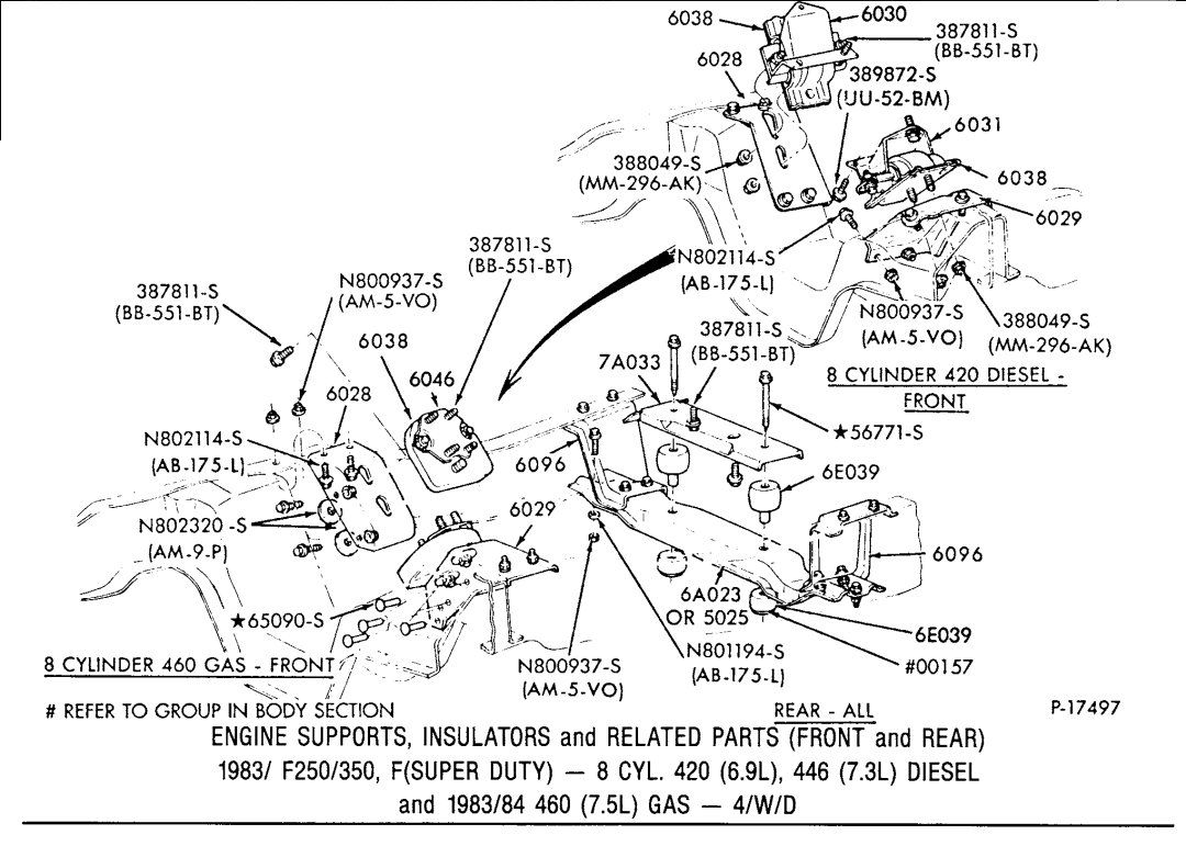 Wiring Diagram For 1994 Ford Econoline Sel Ford Electrical