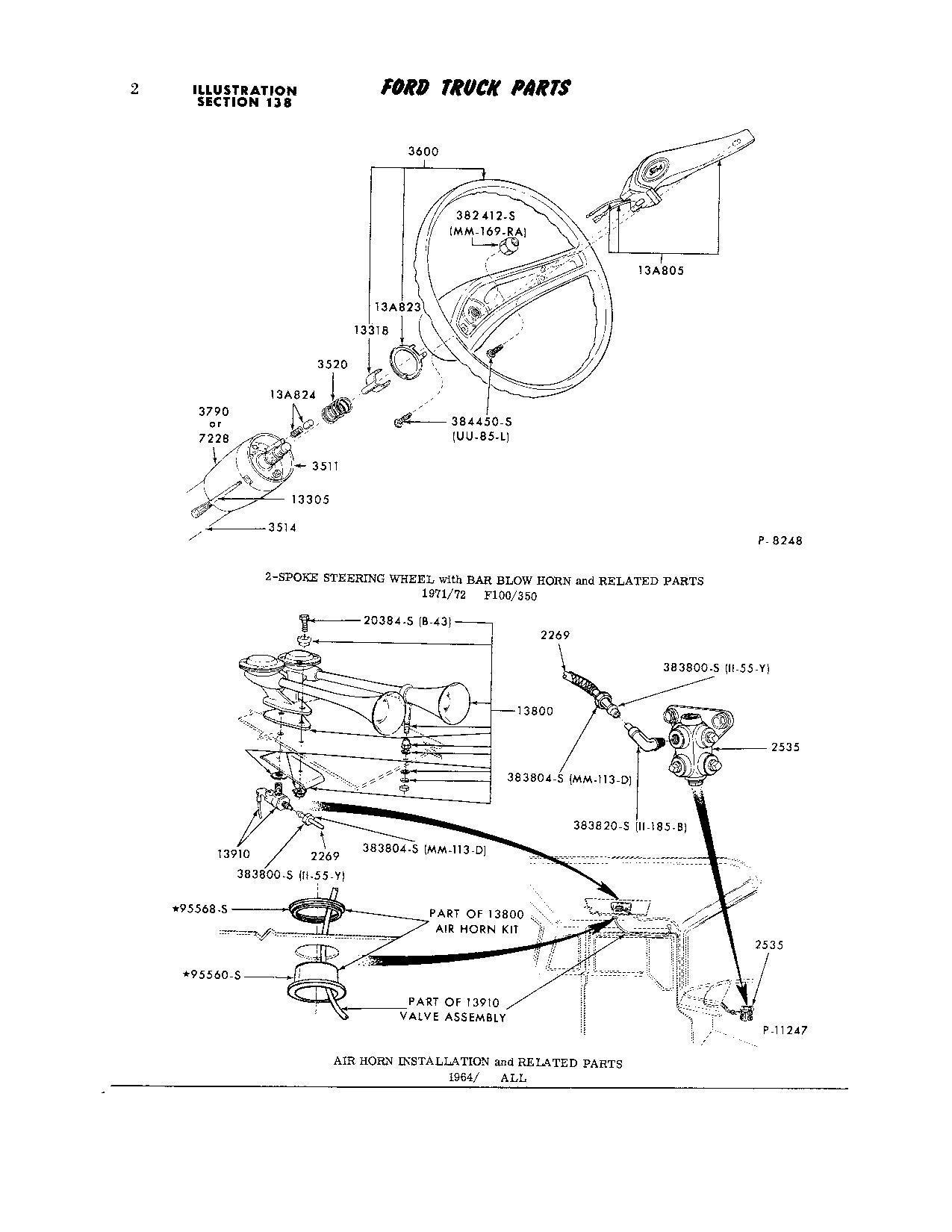 71 Horn Wiring