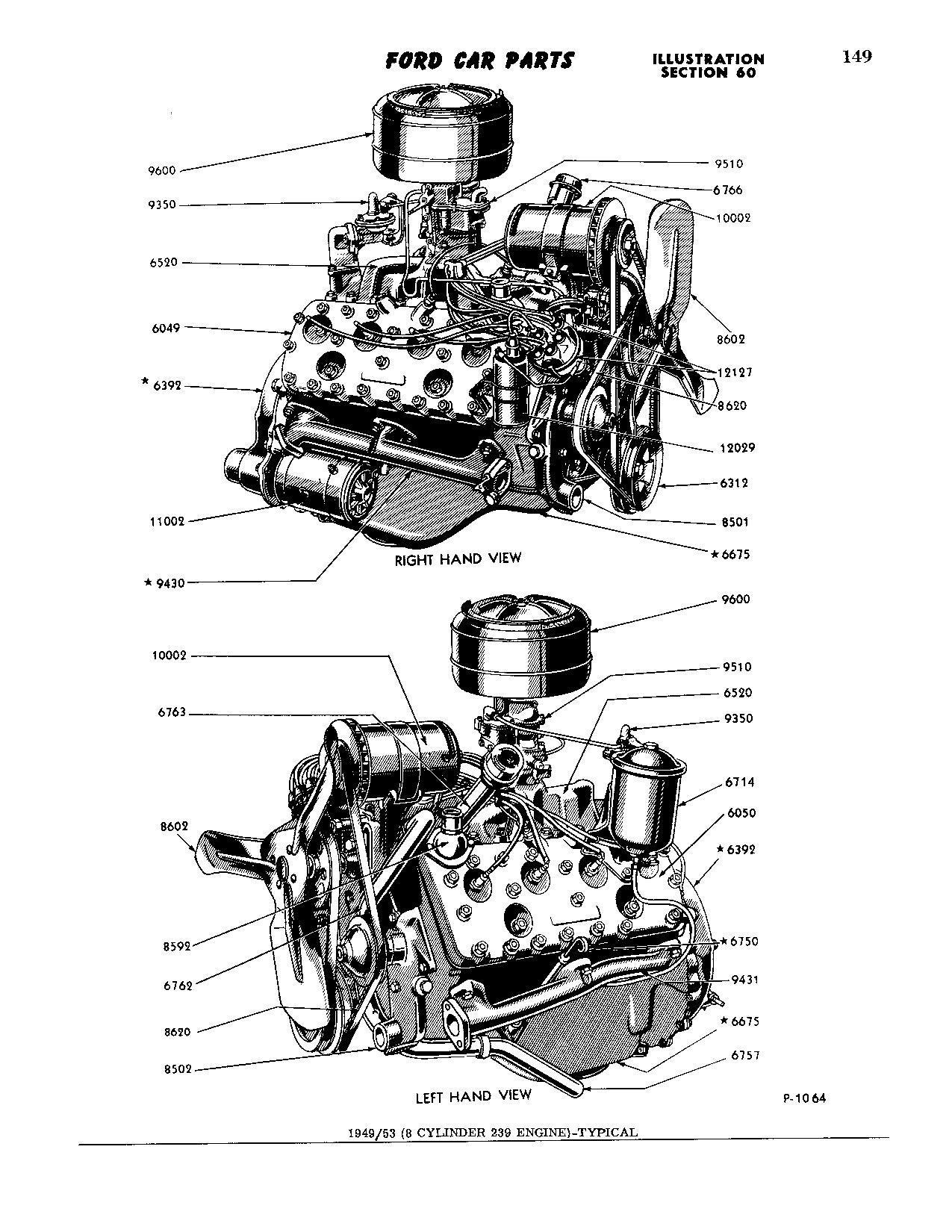 53 239 Exhaust Manifolds