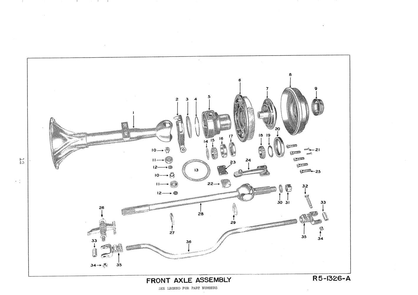 49 F4 Disc Brake Conversion