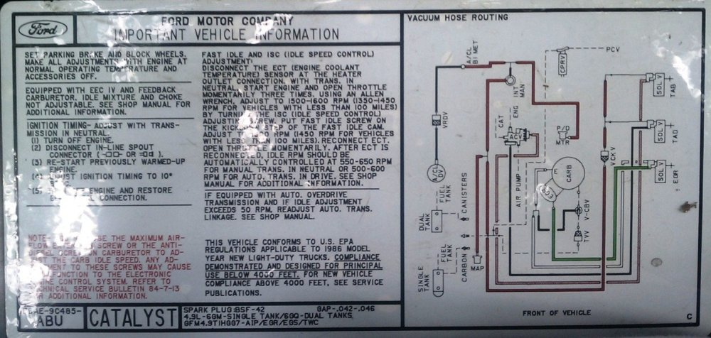 medium resolution of the original smog systems that came on your truck weren t too complicated they are were controlled and monitored by a simple computer in the cab