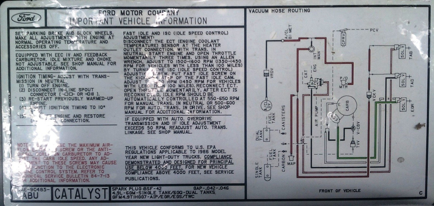 hight resolution of the original smog systems that came on your truck weren t too complicated they are were controlled and monitored by a simple computer in the cab