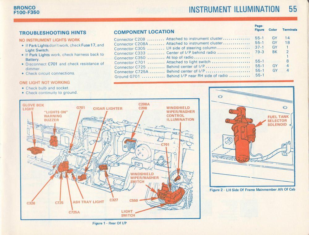 medium resolution of 1981 f100 gauge cluster wiring diagram ford truck 1981 ford f150 radio wiring diagram 1981 ford