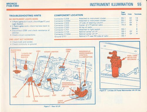small resolution of 1981 f100 gauge cluster wiring diagram ford truck 1981 ford f150 radio wiring diagram 1981 ford