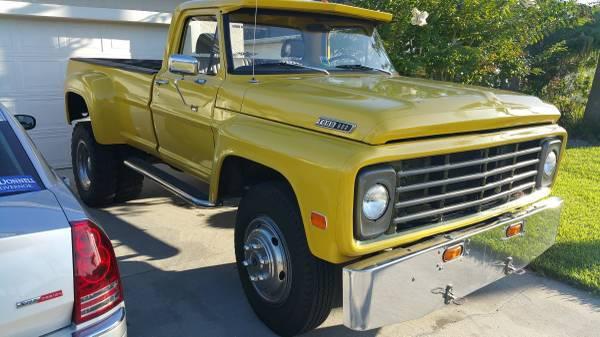 1967 Ford Ranger Camper Special