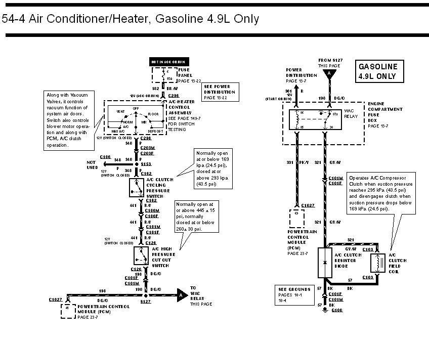 [DIAGRAM] 2001 Ford Explorer A Cpressor Wiring Diagram