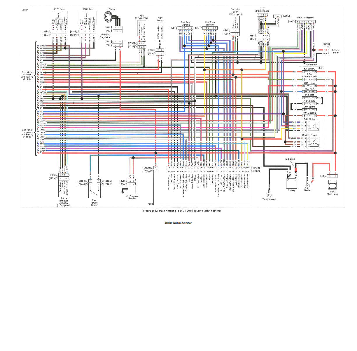 2006 Flhtcui Wiring Diagram Need 2014 Or Later Street Glide Taillight Wiring Diagram