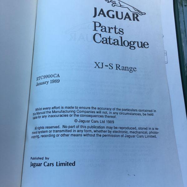 xj s repair operation manual