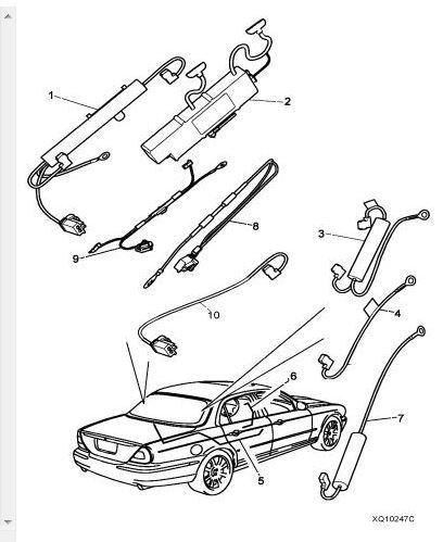 Fuel Tank Wire Harness Jaguar Xj8