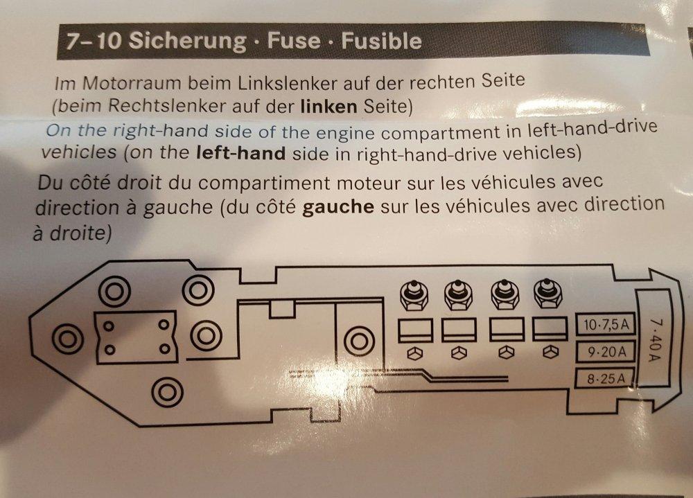 medium resolution of fuse box engine left side