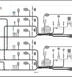here is a diagram of your dts rigging triple engine dual station i don t have any access to the colored wiring harness diagrams online  [ 1668 x 1070 Pixel ]