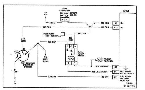 small resolution of here is a picture of that circuit if the eco ops and relay are all unplugged you will need to dig into the harness where it y s bye the fan blower