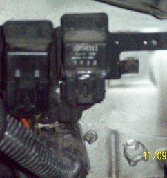 driver s side firewall near fender for 87 sport coupe v6 efi [ 2000 x 1500 Pixel ]