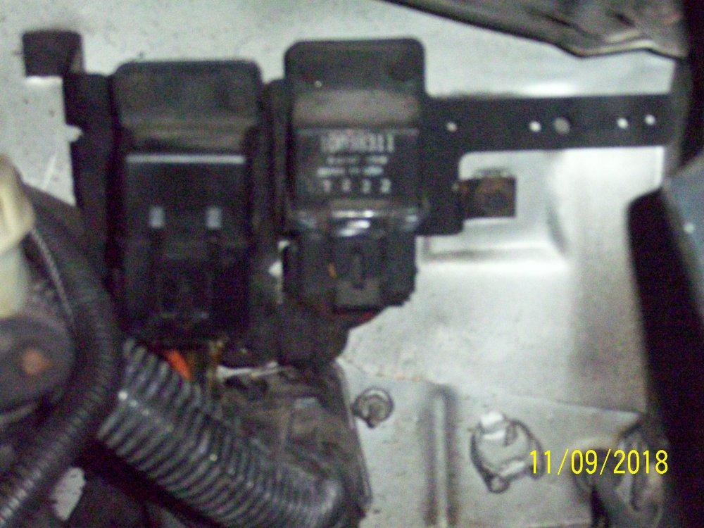 medium resolution of driver s side firewall near fender for 87 sport coupe v6 efi
