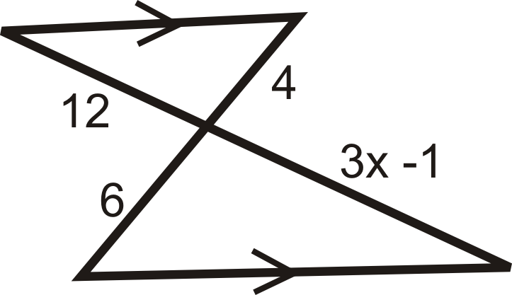 Algebra Connection Find the value of the missing variable(s).