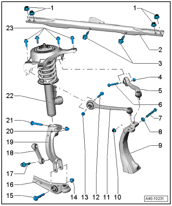 Audi A4 B8 Suspension Diagram. Audi. Wiring Diagrams