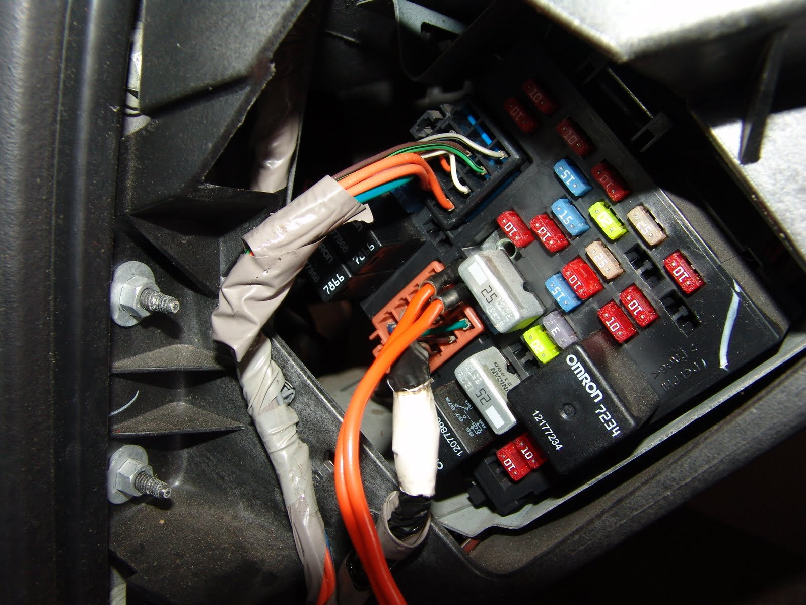 hight resolution of instrument panel fuse box