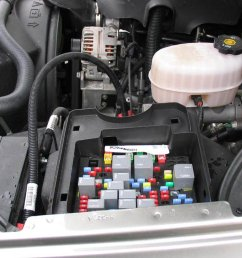 2006 gmc van fuse box location [ 1600 x 1200 Pixel ]