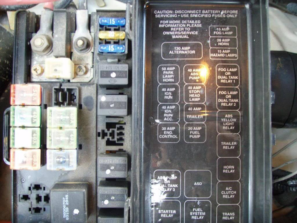 dodge ram fuse box diagram nexus switch 1994 2001 dodgeforum