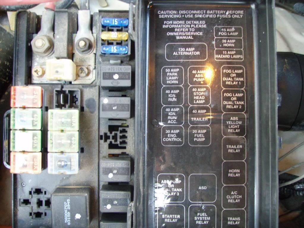 hight resolution of 2001 dodge 2500 fuse box diagram wiring diagram databasedodge ram 1994 2001 fuse box diagram dodgeforum