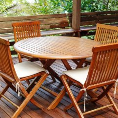 Teak Table And Chairs Garden Big Lots Rocking Chair Cushions How To Restore Outdoor Furniture Doityourself Com