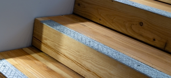 How To Install Non Slip Stair Treads Doityourself Com | Carpet Stair No Slip Nosing | Stair Tread Nosing | Strips | Non Skid | Laminate Flooring | Gravel