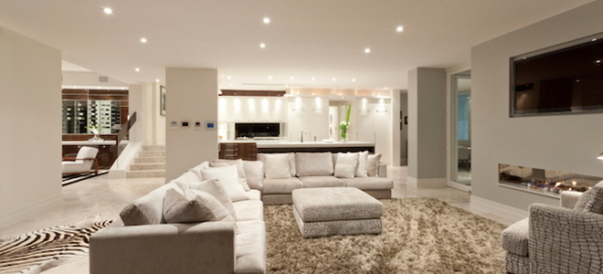 recessed lighting layout living room small paint ideas guide to spacing doityourself com