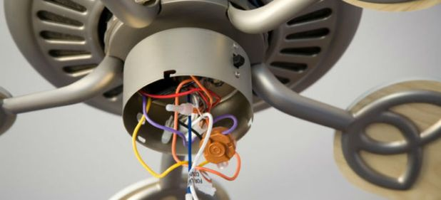 How To Wire A Ceiling Fan With Red Black And White Wires