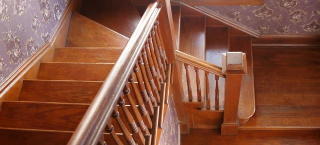 How To Repair Loose Wood Stair Railings Doityourself Com | Wooden Banisters And Railings | Stairwell | Small | Industrial | Balcony | Dark Walnut