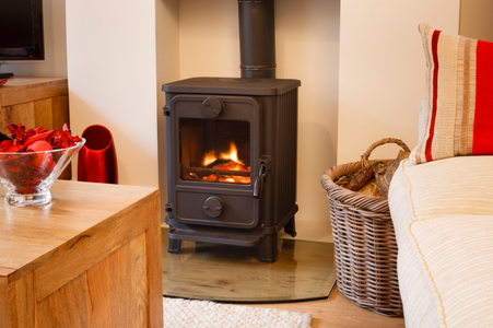 How To Build A Corner Hearth Pad For Wood Stoves