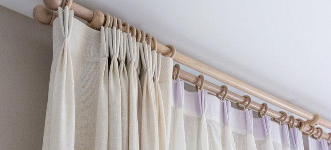 wooden curtain rings vs metal curtain