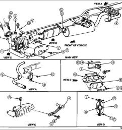 1996 ford super duty exhaust diagram diy wiring diagrams u2022 1997 f150 exhaust diagrams ford [ 981 x 897 Pixel ]