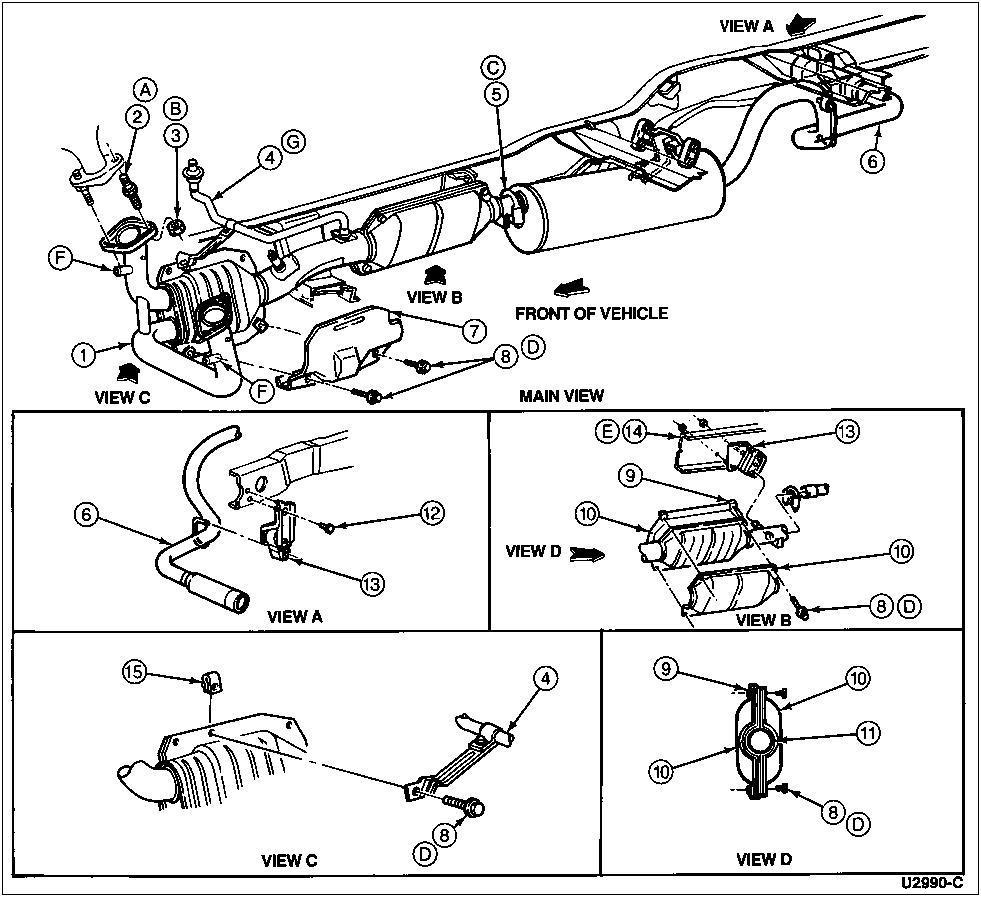 2004 kia sorento exhaust system diagram onan transfer switch 2005 excursion wiring database 1996 ford f150 cooling great installation of model