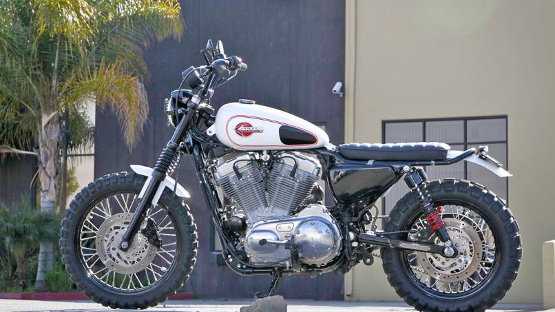 883 Sportster By Burly Brand Becomes