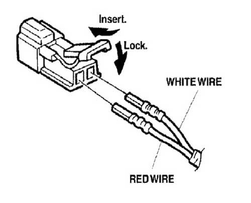 Disconnecting Wire Harness 2001 Honda Accord : 44 Wiring
