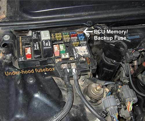 95 Honda Accord Computer Diagram