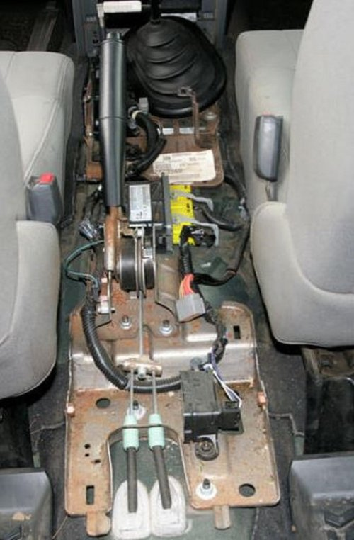 small resolution of figure 7 the center console can now be removed by sliding it up and over the emergency brake handle