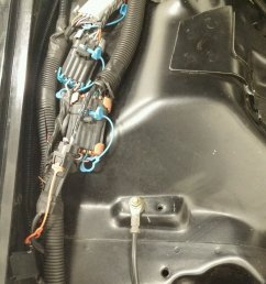 chevrolet camaro pontiac firebird amplifier amp power wire cable how to diy replacement [ 1000 x 1356 Pixel ]