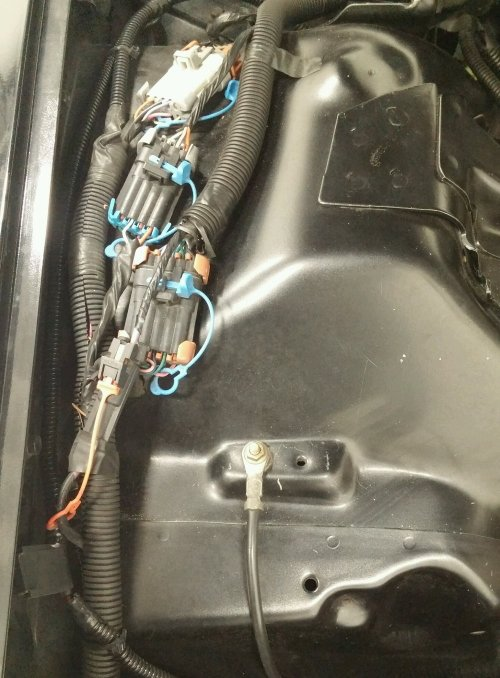 small resolution of chevrolet camaro pontiac firebird amplifier amp power wire cable how to diy replacement